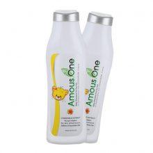 شامپو ۳۰۰ میل کودکان مخصوص موهای خشک آموس وان (فرمولاسیونی بسیار ملایم)