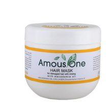 ماسک مو با آبکشی مخصوص موهای آسیب دیده آموس وان (حاوی روغن ماکادمیا)