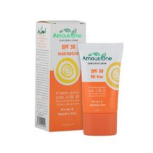 کرم ضد آفتاب آموس وان مناسب پوست های خشک و حساس