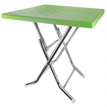 میز تاشو ۴ نفره ( پایه فلزی ) هوم کت