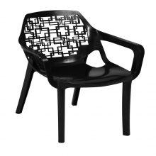 صندلی آتیلا (اسپیرال مربع ) دسته دار هوم کت